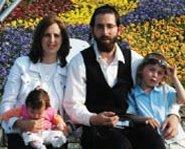 Rabbi Holtzberg and family