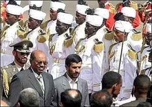 Presidents of Sudan and Iran