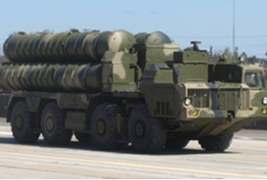 S-300 anti-aircraft missile