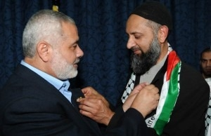 Ismail Patel with Hamas leader Ismail Haniyeh