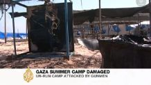 Gaza summer camp
