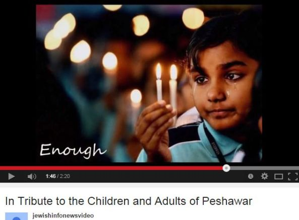 In Tribute to the Children and Adults of Peshawar YouTube