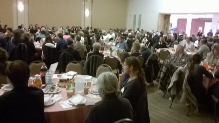 Ve'ahavta's 16th Annual Community Passover Seder. Toronto April 2015. -photo (c) jewishinfoNews