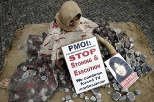 Stoning of women Iran a